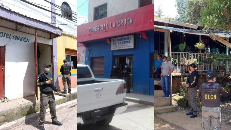 Incautan bienes y capturan a supuesto narco en Intibucá