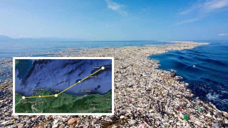 Más de 200 km, rastro del daño de la basura chapina en Honduras