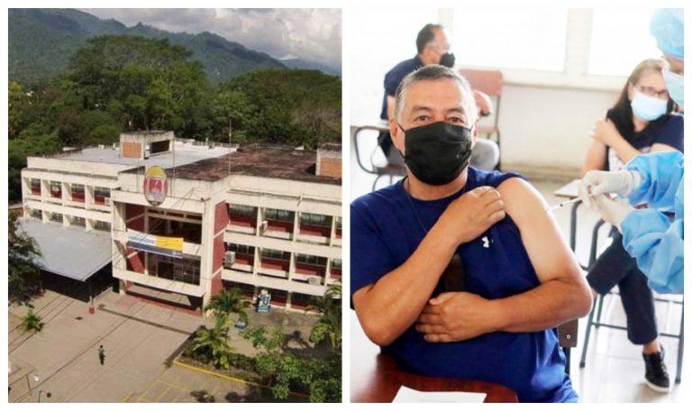 «Hasta nuevo aviso»: Cierran centro de vacunación en UNAH-VS