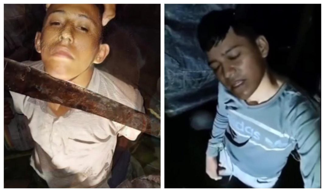 Secuestran hondureños en México