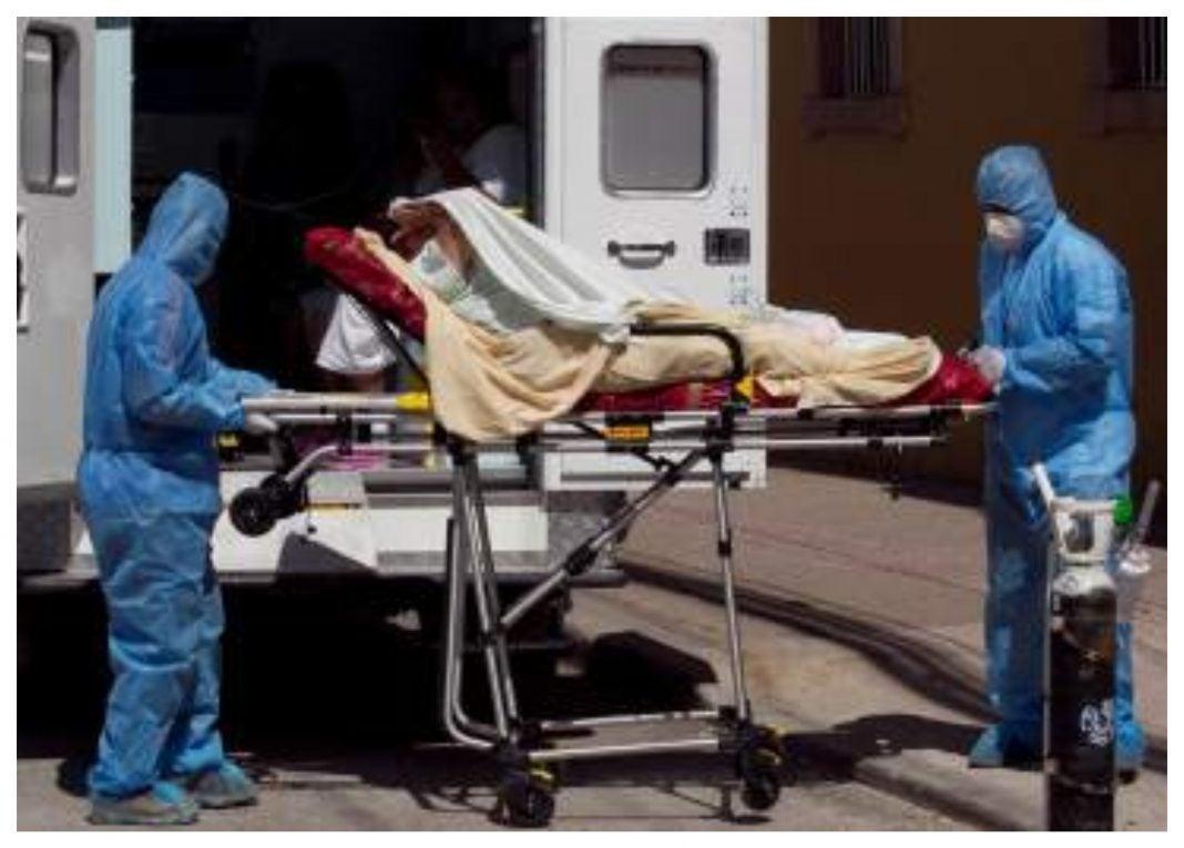 muerto por COVID en triaje de SPS