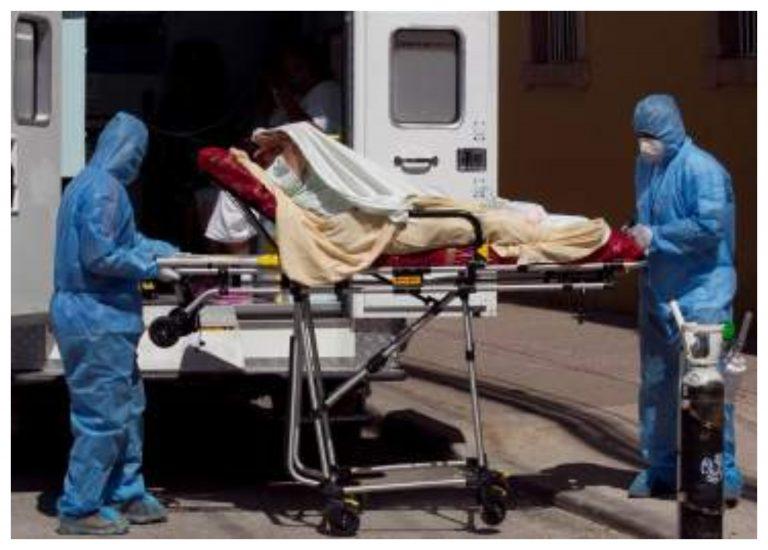 Por COVID trasladan hombre a triaje en SPS, pero ya estaba muerto