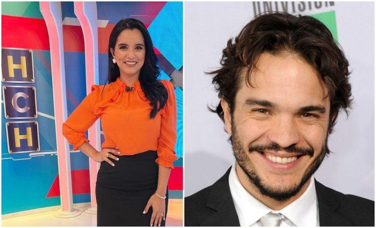 """""""Lo he admirado"""": Actor de Televisa chatea con Francy Orellana"""