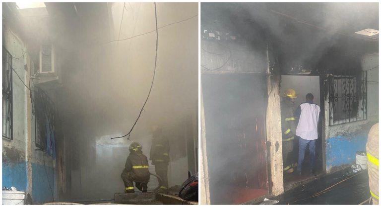 Niño de cuatro años fallece en un incendio en cuartería de SPS