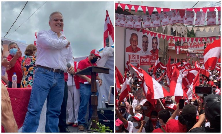 Yani visita Olancho y pide voto en plancha para los liberales