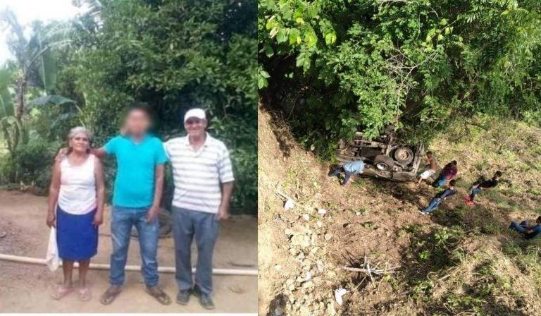 Pareja que murió en accidente en El Corpus venía de renovar votos