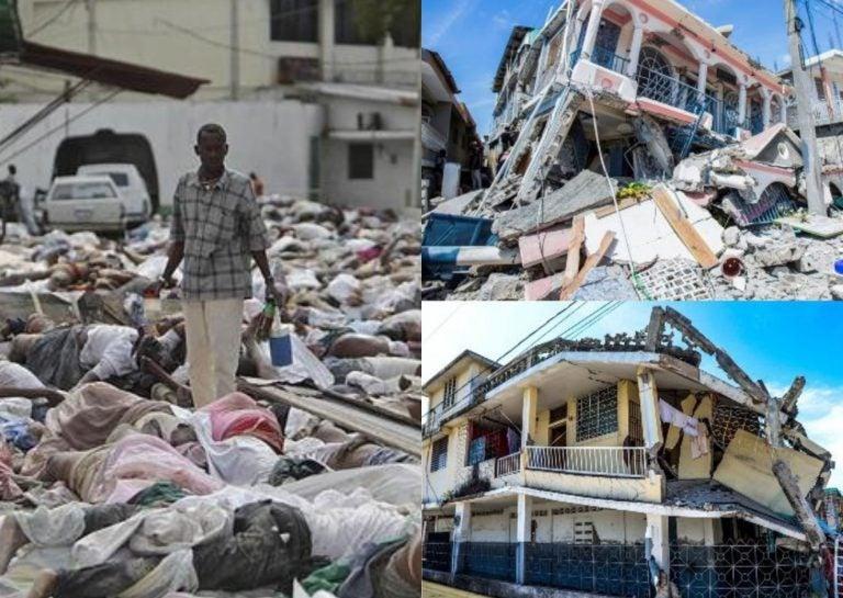 Terremoto en Haití deja casi 1,300 muertos y más de 5,700 heridos