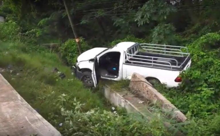 Iban a traer cadáver: un muerto y tres heridos en accidente