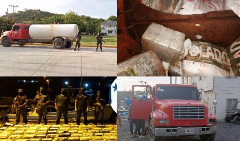 ATIC: Droga de cisterna y detenidos en Roatán llegan hoy a TGU