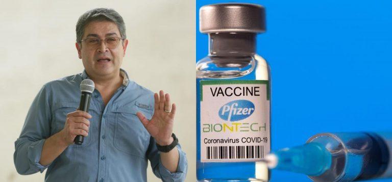 JOH asegura que ya tienen comprada la tercera dosis de Pfizer