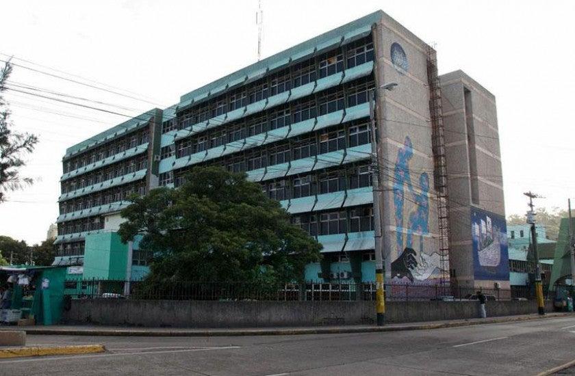 Hospital Escuela sala COVID-19