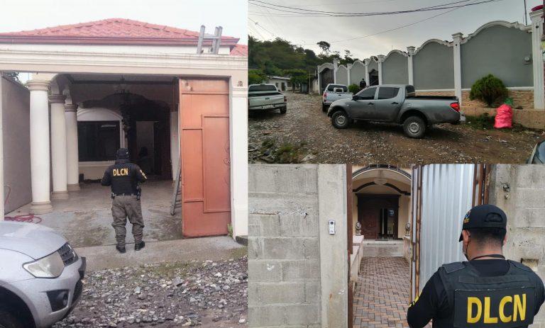 """Operación """"Jano"""": MP allana 13 viviendas en El Paraíso, Copán"""