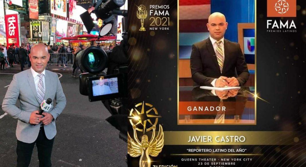 Javier Castro Reportero Latino del Año