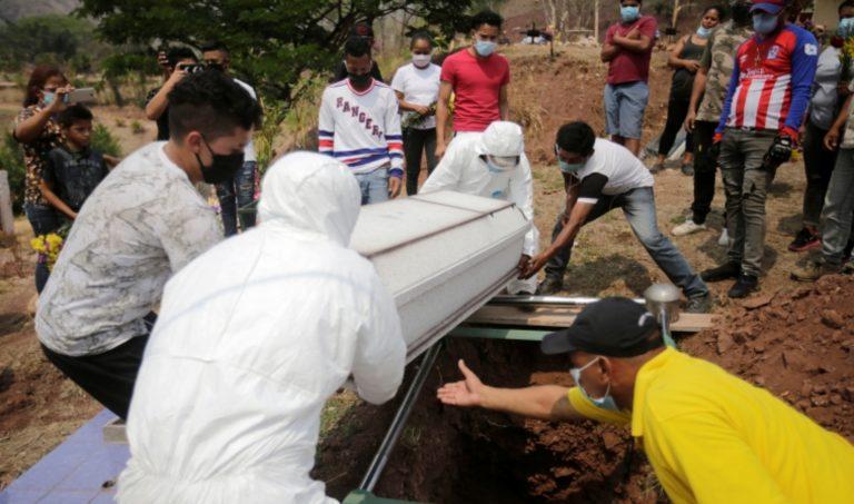 SINAGER: Muertes por COVID en Honduras se acercan a las 9 mil