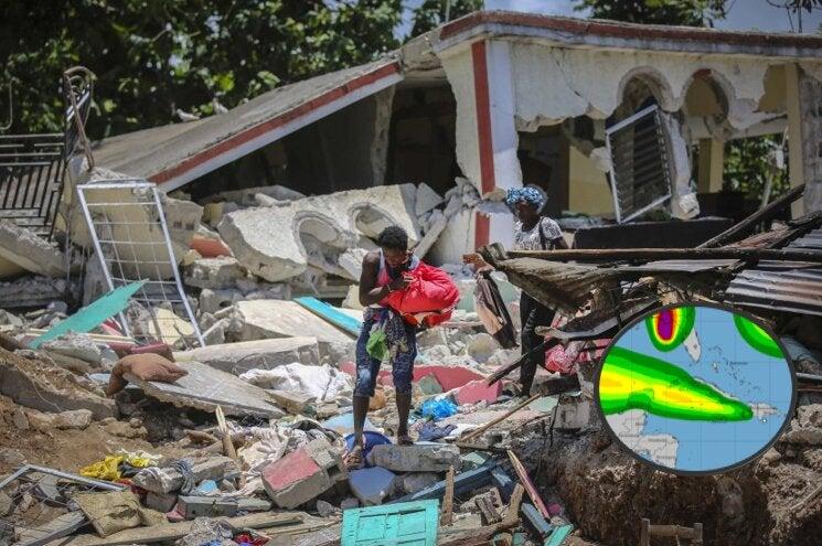 Mientras se recupera del terremoto, Haití será azotada por Grace