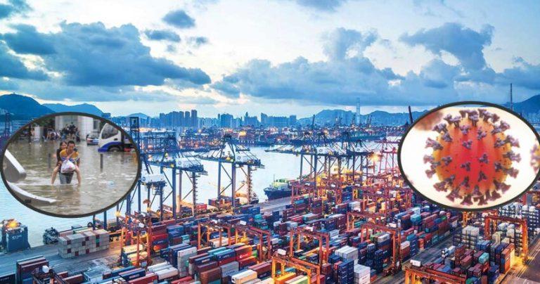 COVID y desastres: cadenas mundiales de suministros se desploman