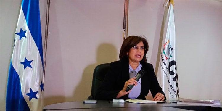 Rixi Moncada denuncia: CNE no manejará presupuesto, será el SIAFI