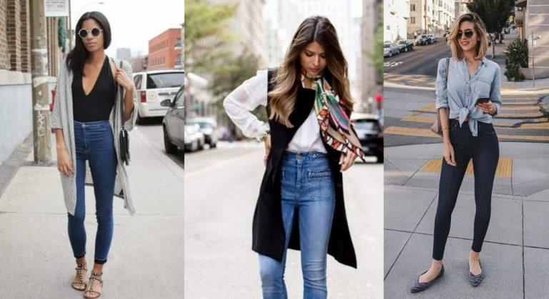 Cómo usar los jeans de tiro alto para verte delgada
