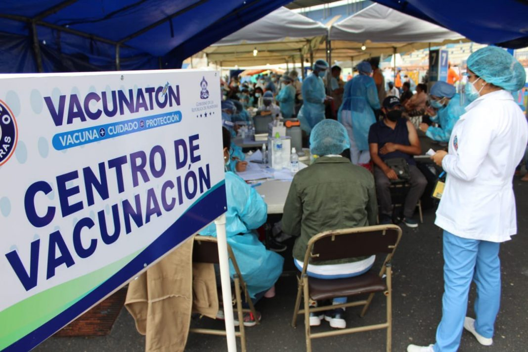 vacunación del sábado honduras