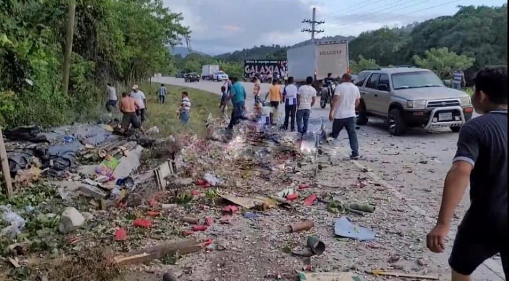 Explosión Nueva Arcadia Copán