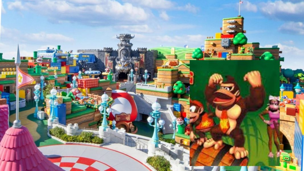 Donkey Kong Super Nintendo World