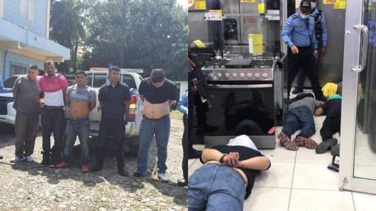 Prisión preventiva reciben asaltantes de tienda en El Progreso