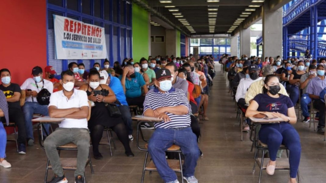 segundo Vacunatón Honduras