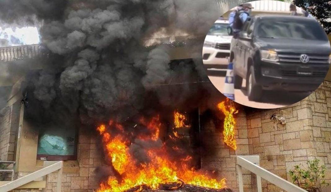 incendio embajada de euu