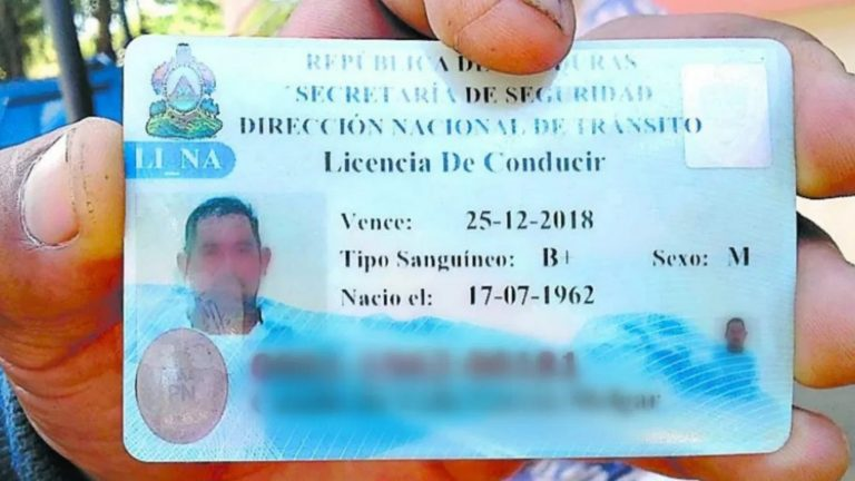 MP pide inhabilitar a policía por emitir licencias fraudulentas