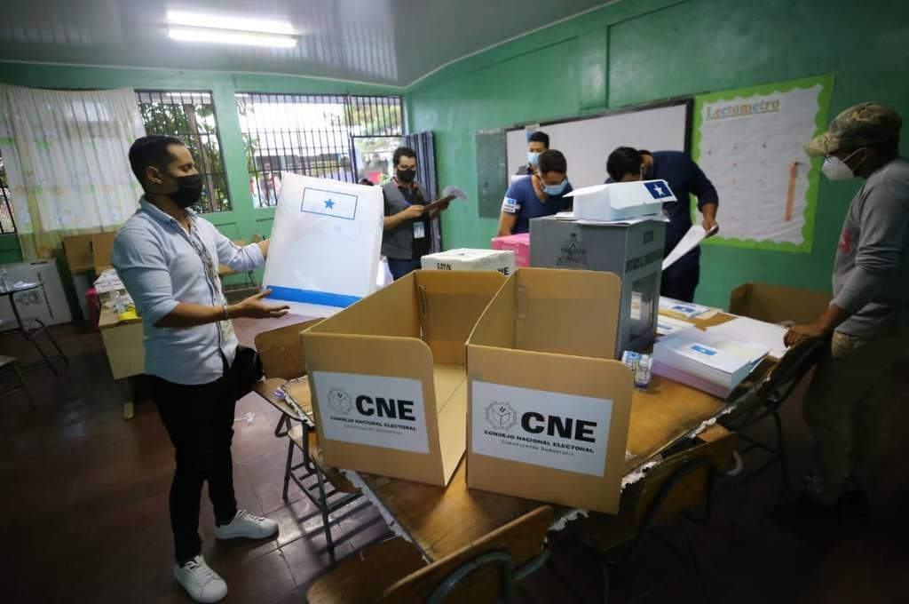 TREP centro de votación