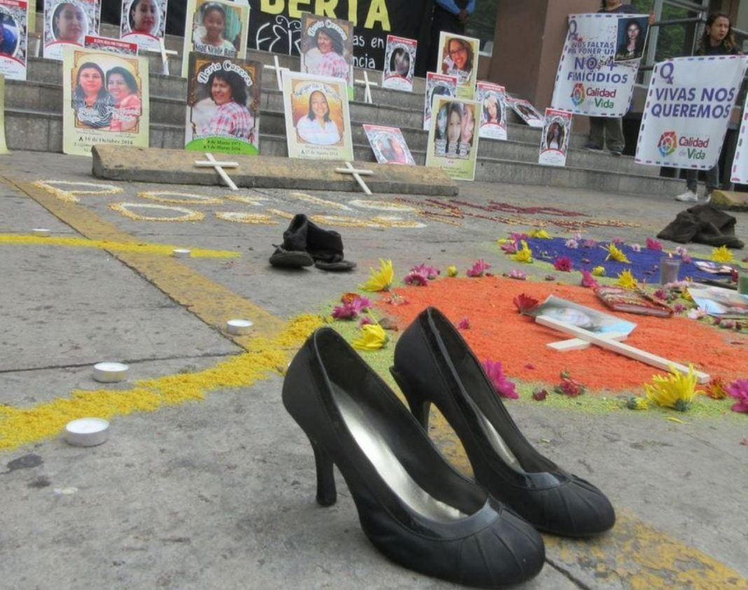 muertes violentas mujeres Honduras