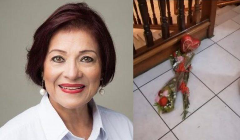 Con ramos de rosas llegaron a matar a Carolina Echeverría