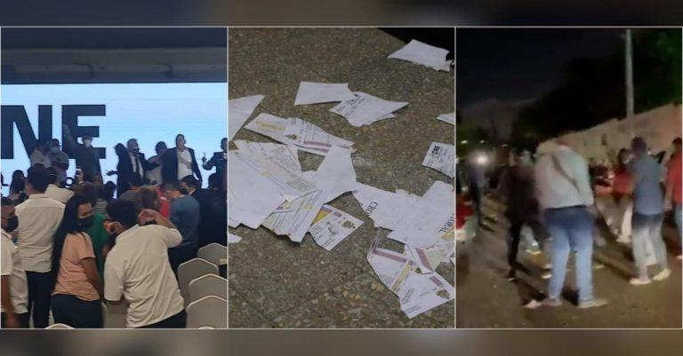 CNE suspende sorteo de posiciones en las papeletas electorales