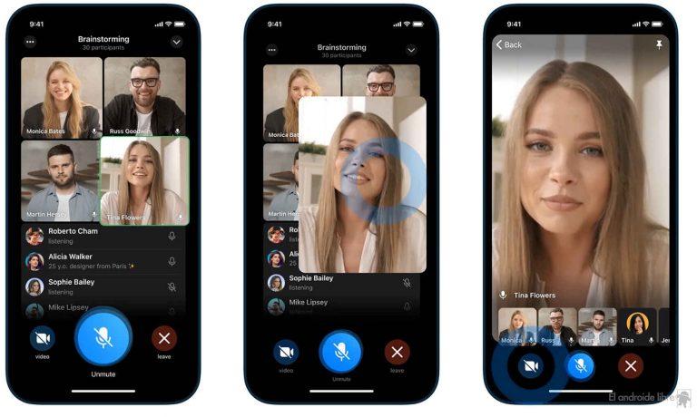 Hacer una videollamada con 1,000 usuarios es posible en Telegram