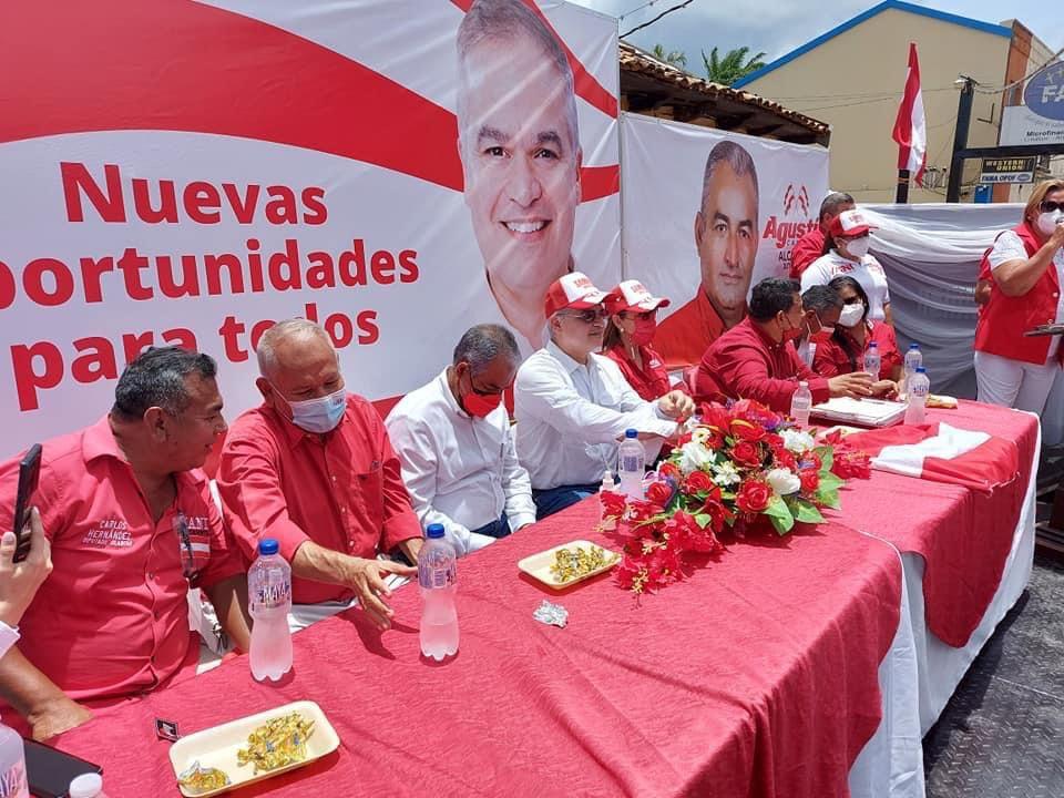 Yani Olancho voto en plancha
