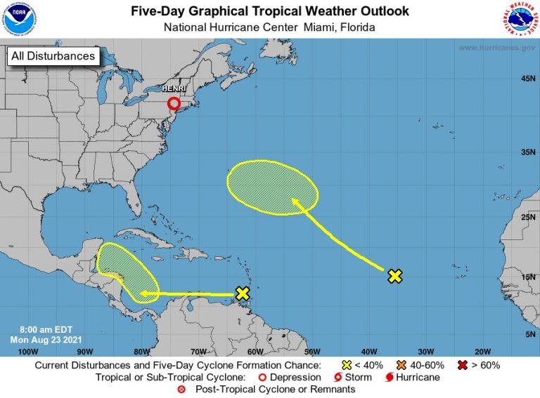 Advierte NOAA: Se forma primer ciclón que afectaría a Honduras