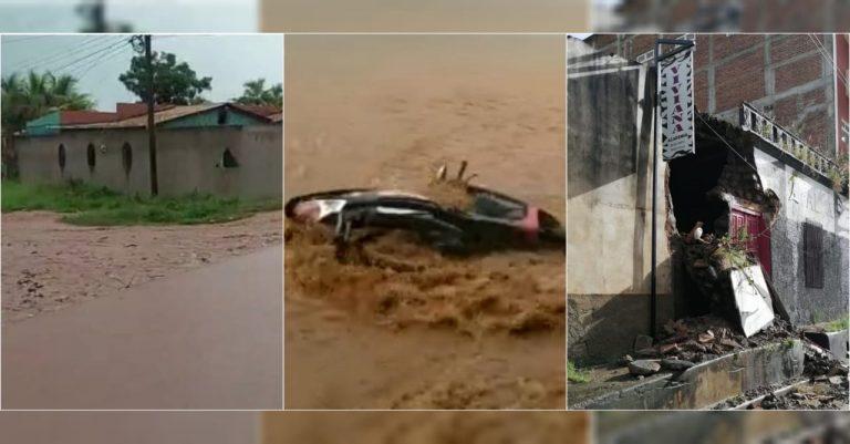 Lluvias siguen «golpeando» a Olancho: hay casas y calles dañadas