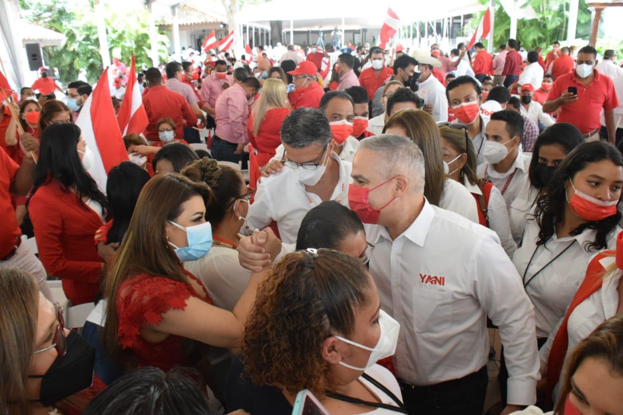 Yani campaña hondureños