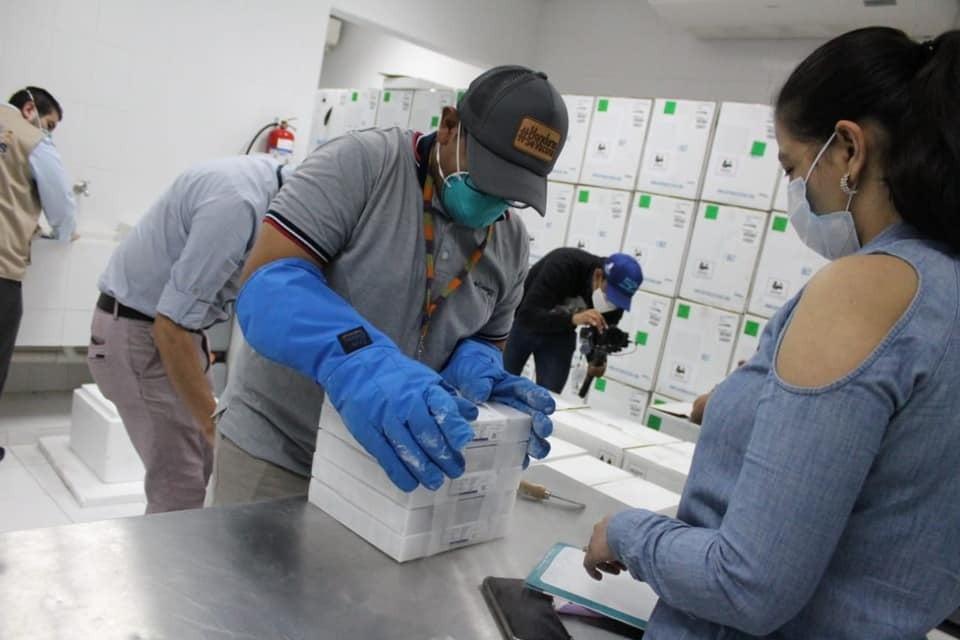 El objetivo de las autoridades es continuar con la inmunización de la población hondureña.