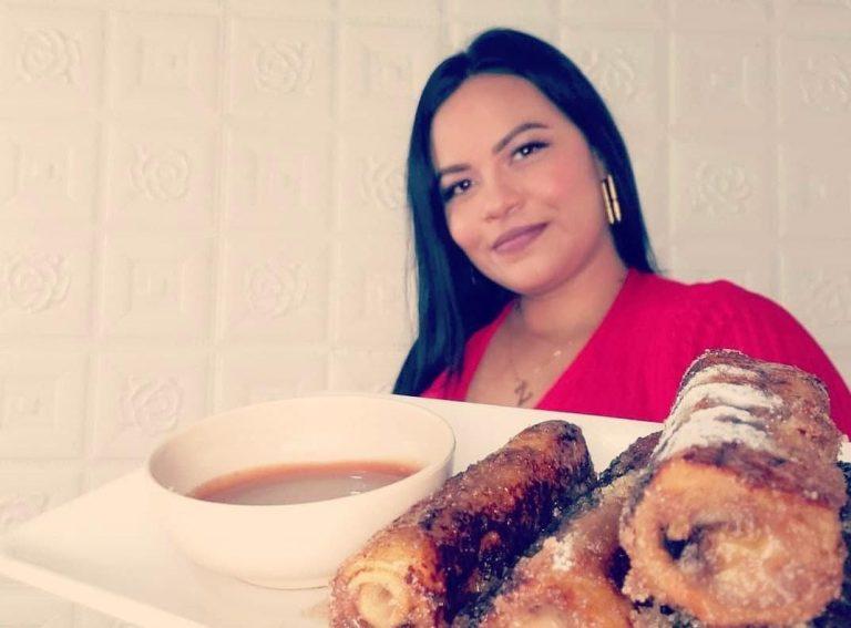 Hondureña destaca en TikTok con deliciosas recetas de cocina