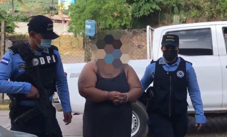 Capturan en la capital a mujer por maltratar a su nuera