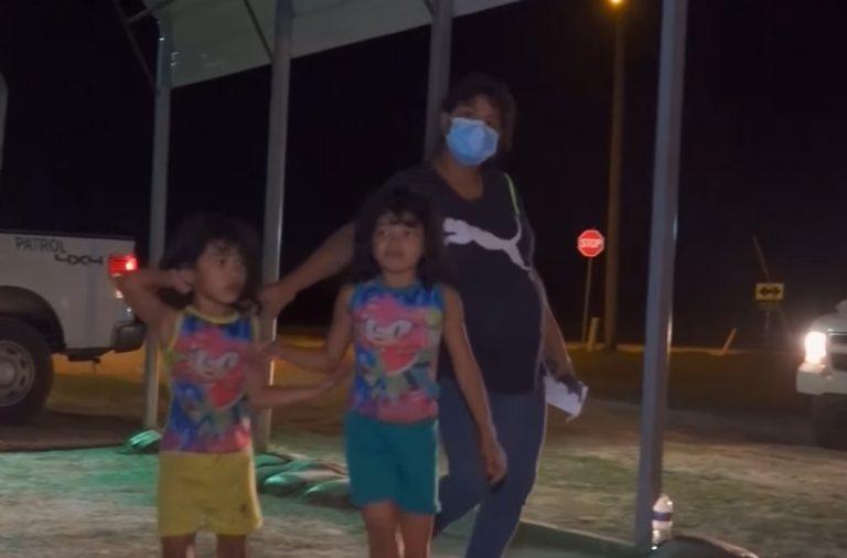 Liberan a hondureña que cruzó frontera a punto de parir