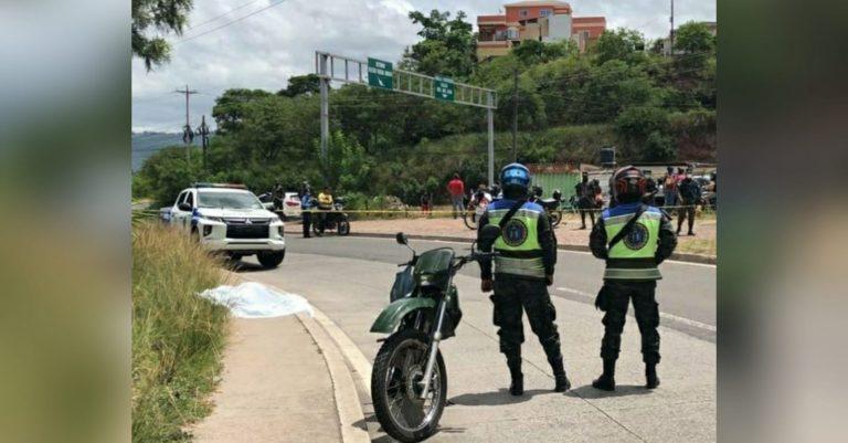 Venía de cobrar bono: matan mujer a balazos en Anillo Periférico