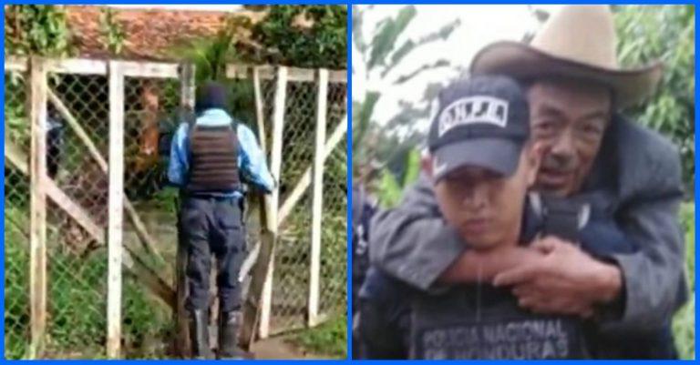 Policía condecorado tras Eta e Iota muere en operativo en Olancho