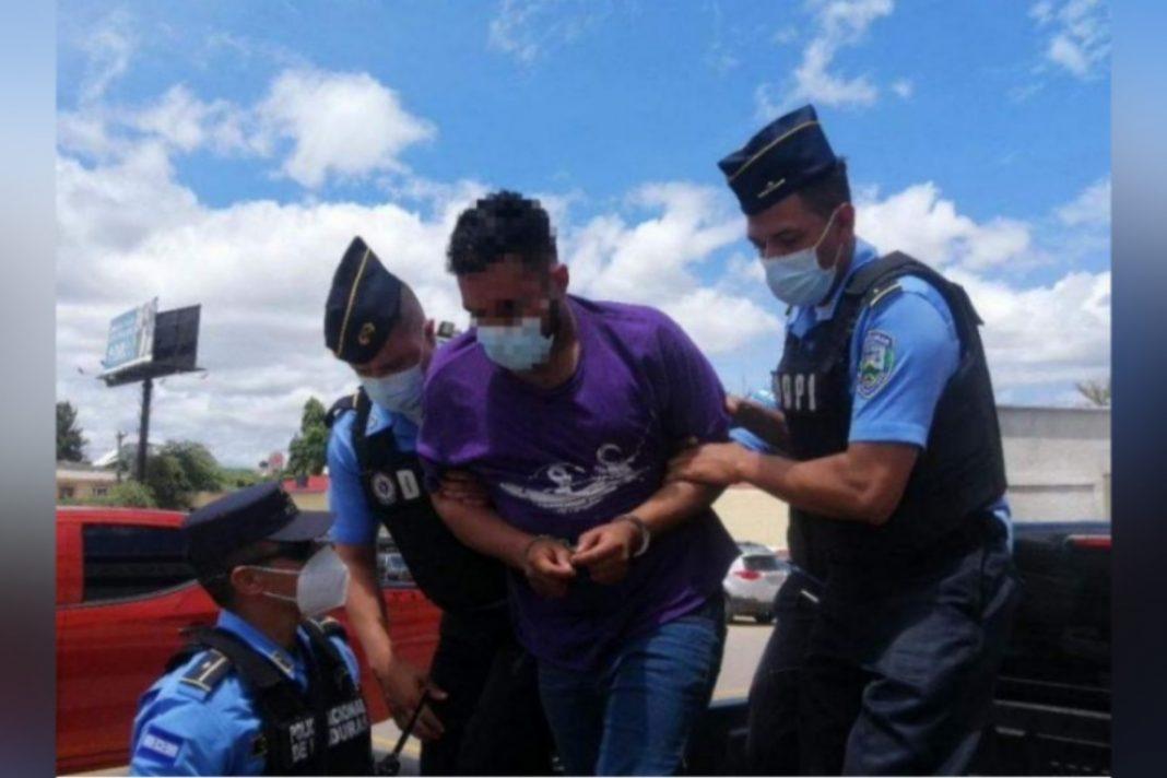 Detención Judicial por quemar embajada