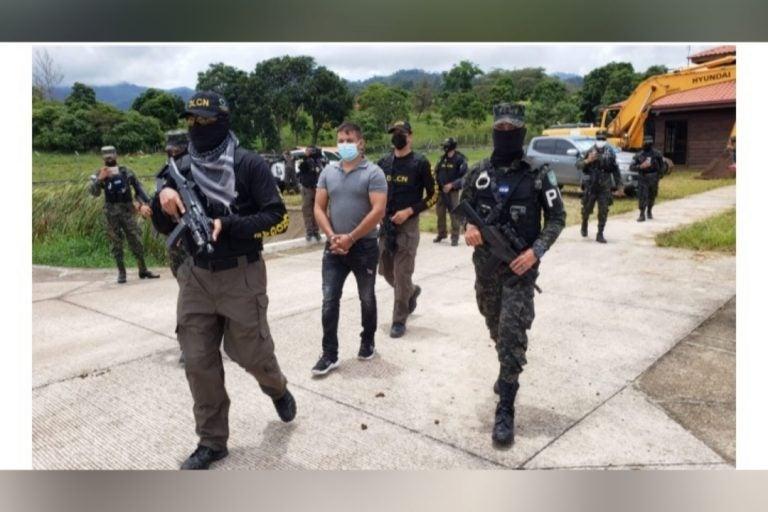 A audiencia de información extraditable capturado en Copán
