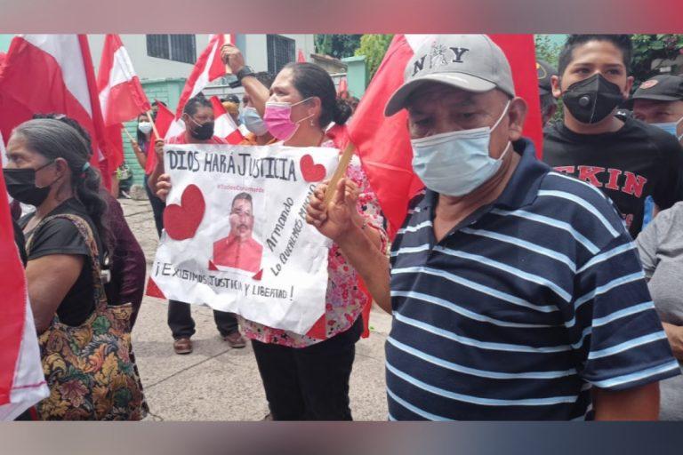 """""""El pueblo está contigo"""": Ojojona exige libertad para su alcalde"""