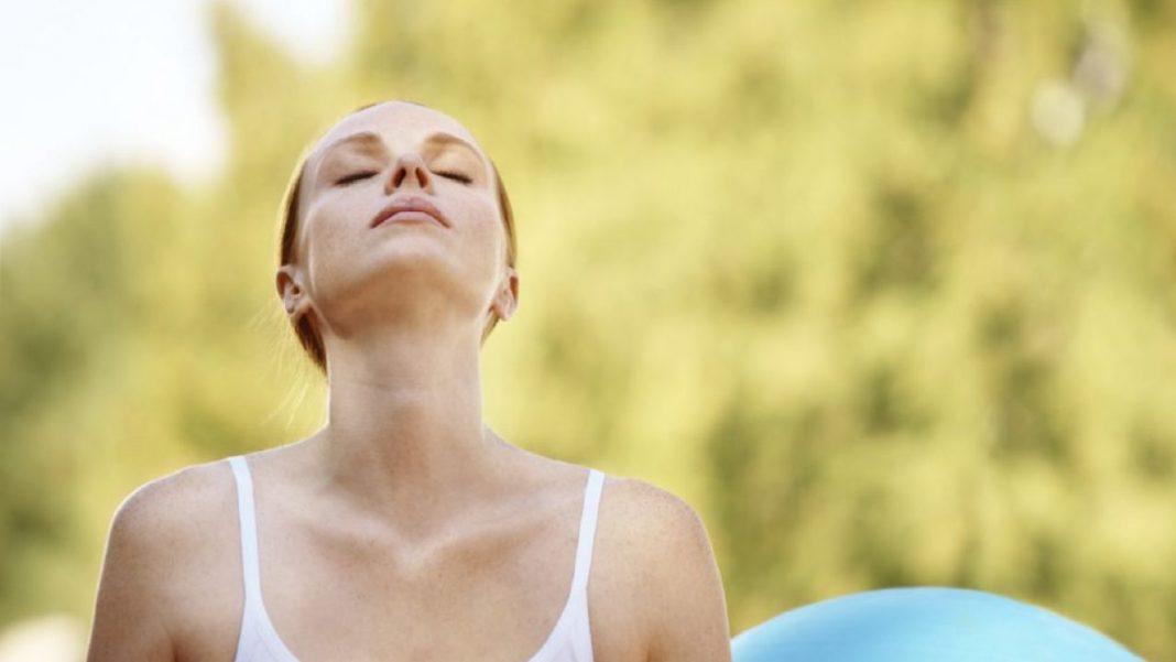 ejercicios respiratorios tras el COVID