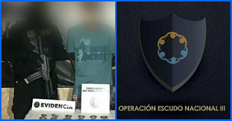 Más de 130 personas detenidas deja Operativo Escudo Nacional III