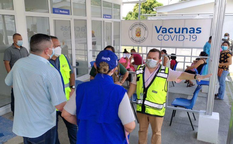 Municipalidad de SPS dispone de más centros de vacunación